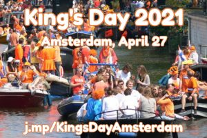 King's Day, April 27, 2021