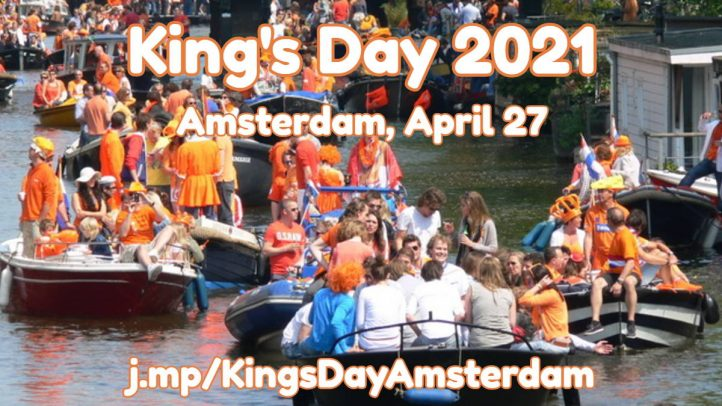 King's Day, April 27, 2021