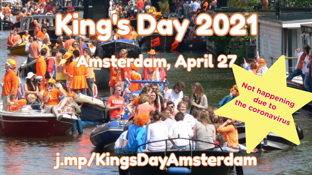 King's Day Amsterdam 2021