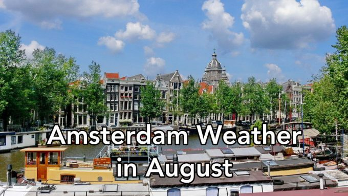 Amsterdam Weather forecast in August