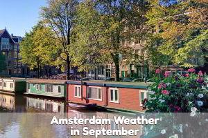 Amsterdam September weather forecast