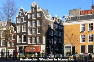 Amsterdam November weather forecast