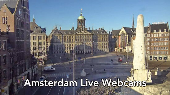 Amsterdam live webcams