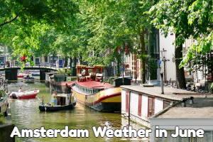 Amsterdam June weather forecast