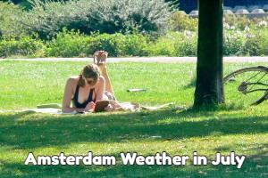 Amsterdam July weather forecast