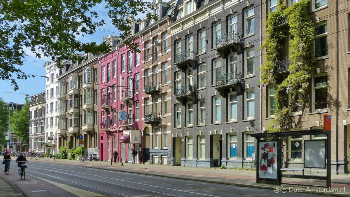 Many Amsterdam rental scams entice potential victims by mentioning desirable downtown locations.