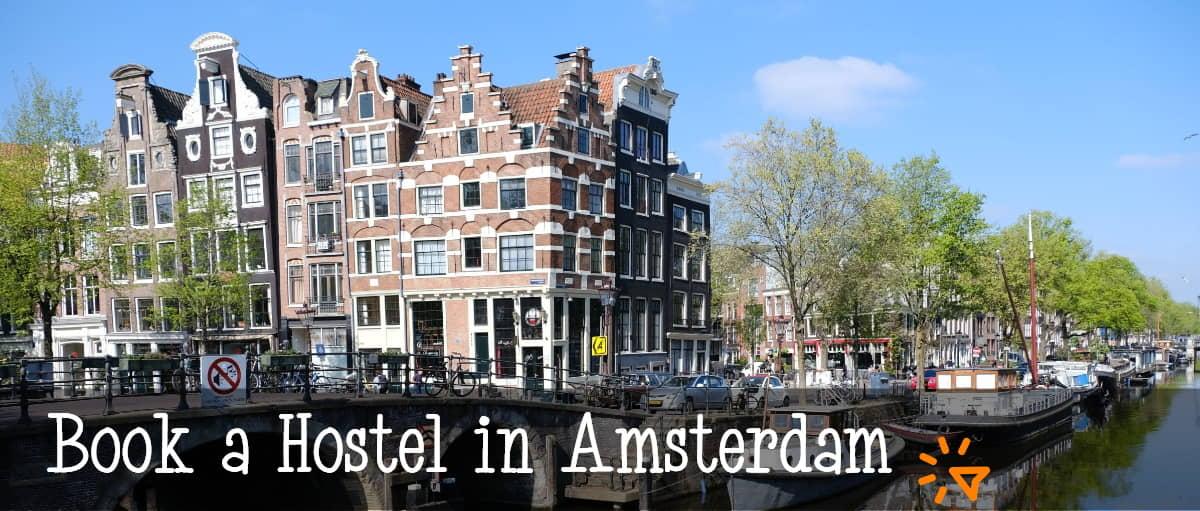 Book a hostel in Amsterdam