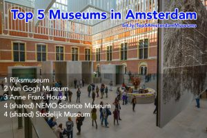 Top 5 Most Popular Museums in Amsterdam