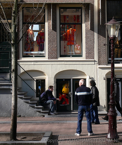 Amsterdam's Red Light Fashion District