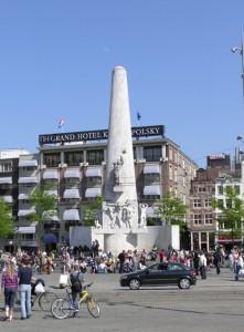 National Monument at Dam Square, Amsterdam