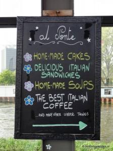 Italian coffee in Amsterdam, Al Ponte