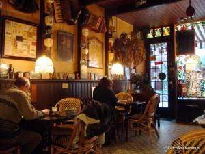 Coffee at Petit Grand Café 'Granny', Amsterdam