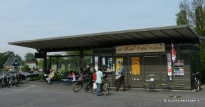 Al Ponte, a genuine Italian coffee kiosk in Amsterdam