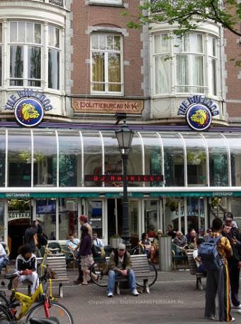 Coffeeshop Bulldog Leidseplein Amsterdam