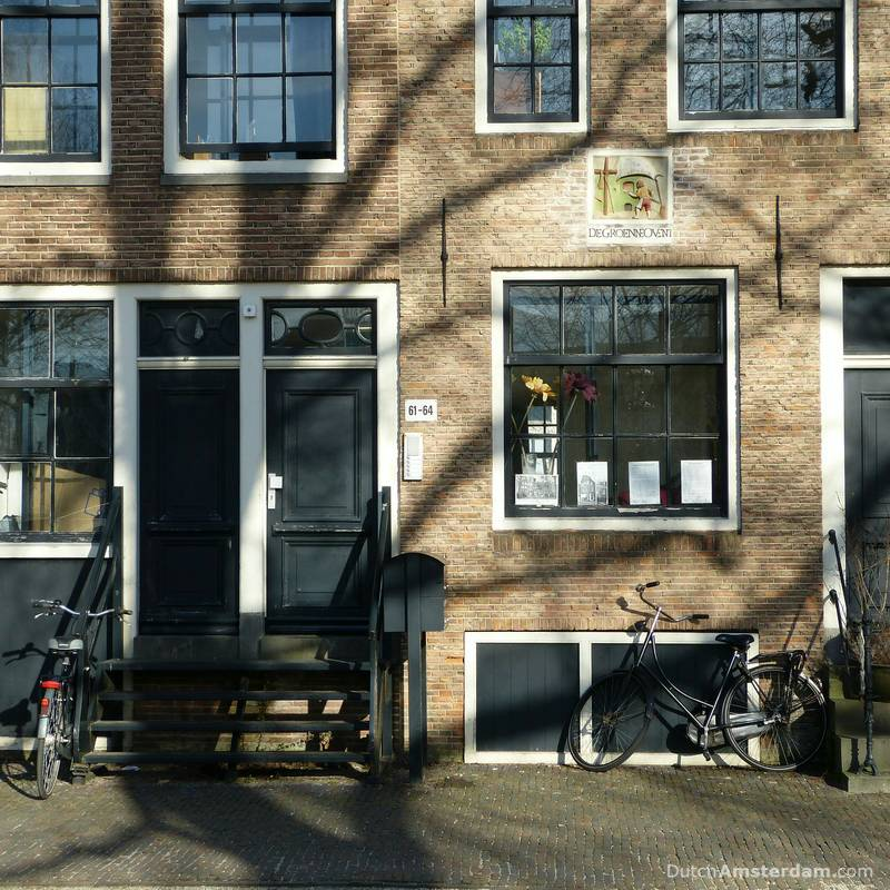 A façade in Amsterdam
