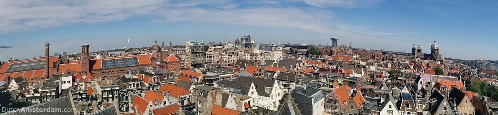 bids' eye view of amsterdam