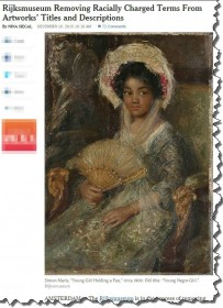 Rijksmuseum removes racially charged titles